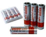 Batteries 4600mAh, size AA